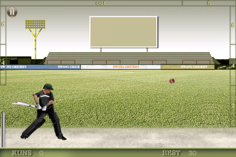 Screenshot Swing Cricket 2 Lite